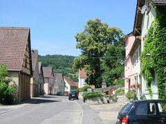 Würzburger Strasse in Schäftersheim
