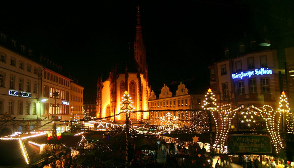 Weihnachtsmarkt Würzburg.Würzburger Weihnachtsmarkt Foto Bild Deutschland Europe Bayern