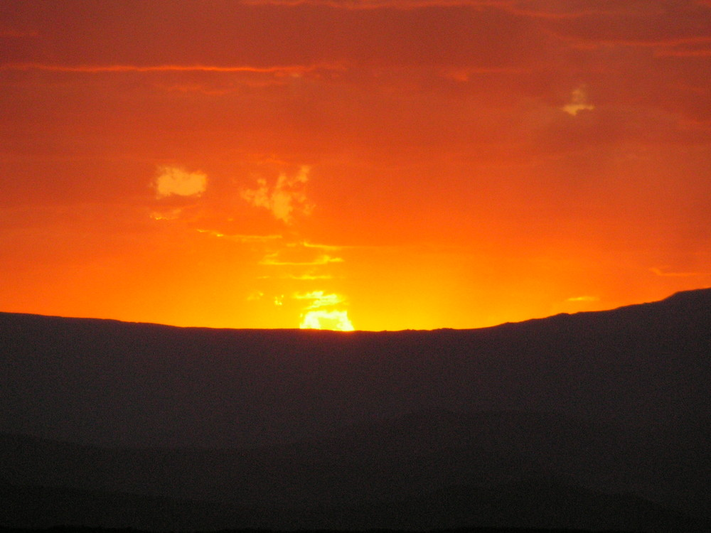 Wüste in Flammen