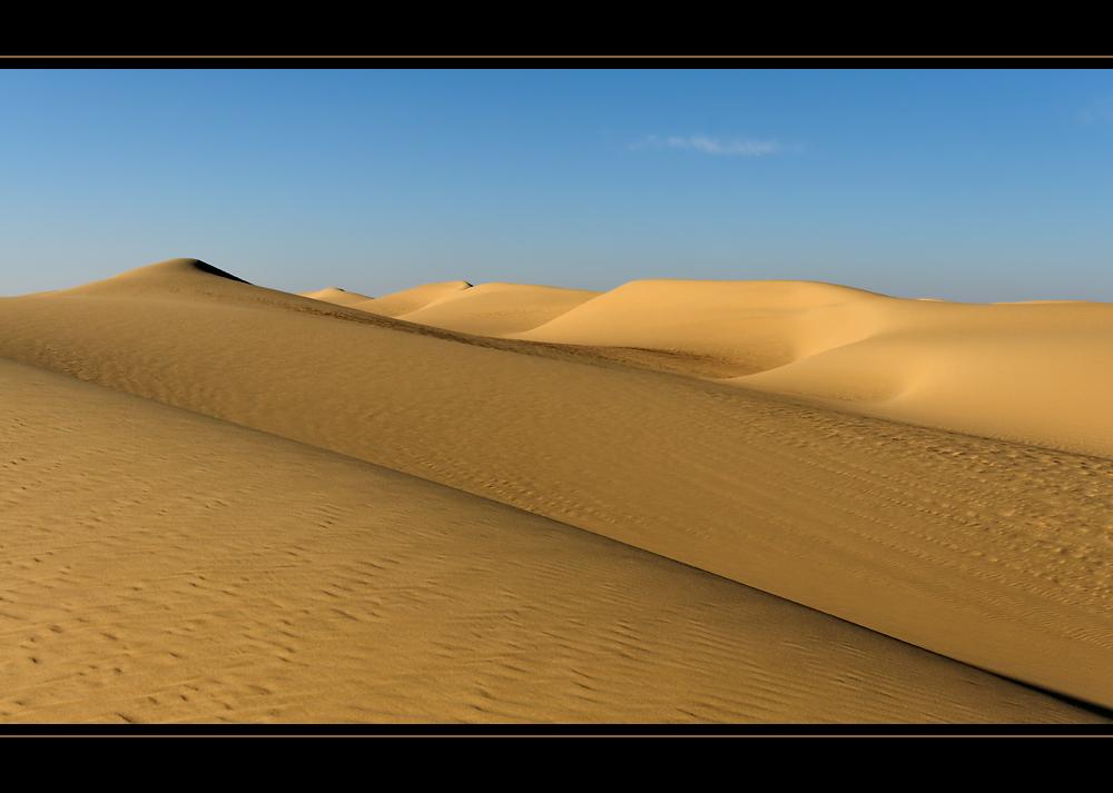 Wüste und Sand