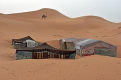 Wüstencamp im Erg Chebbi im Süden von Marokko