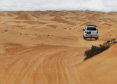 Wüstendurchquerung