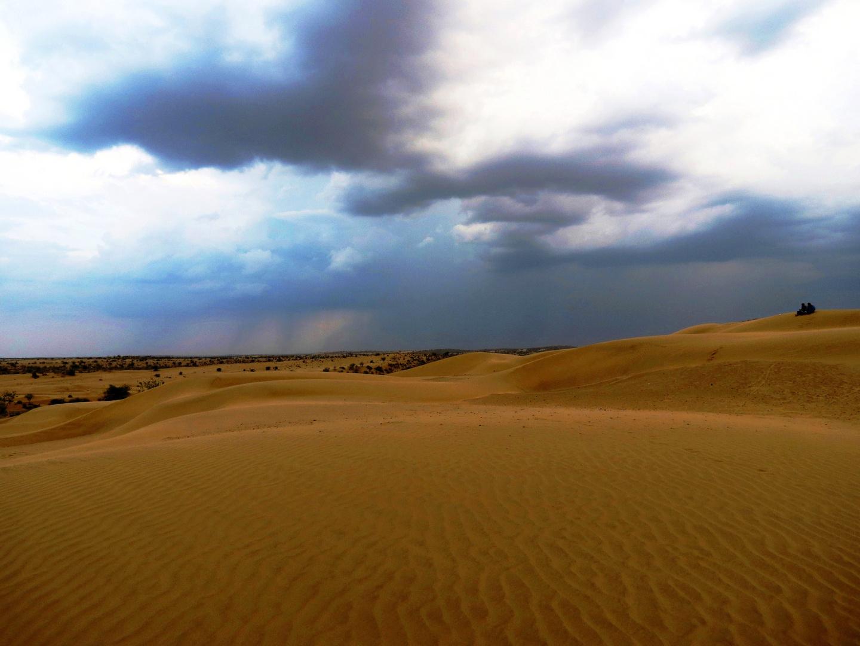 Wüstenregen
