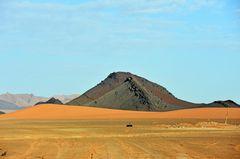 Wüstenregion bei Tafraout Hassi Fougani im Süden Marokkos