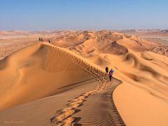 Wüstenwandern