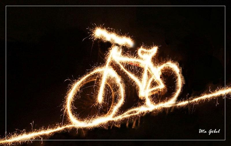Wunder(-kerzen) Fahrrad