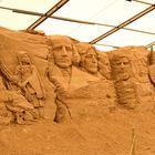 Wunderschöne Bearbeitung von Sand