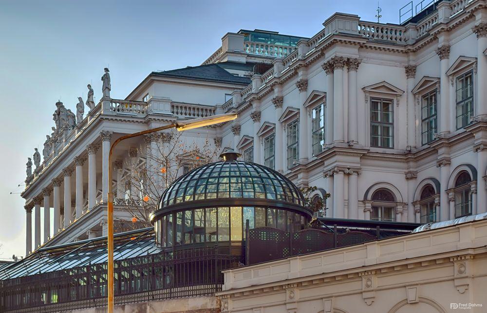 Wunderschöne Fassaden in Wien