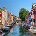 Wunderschöne Häuser auf Murano