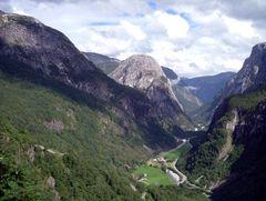 Wunderschöne Landschaft in Norwegen