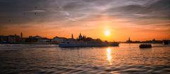Wunderschöner Morgen in Venedig