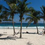 Wunderschöner Strand in Mexiko