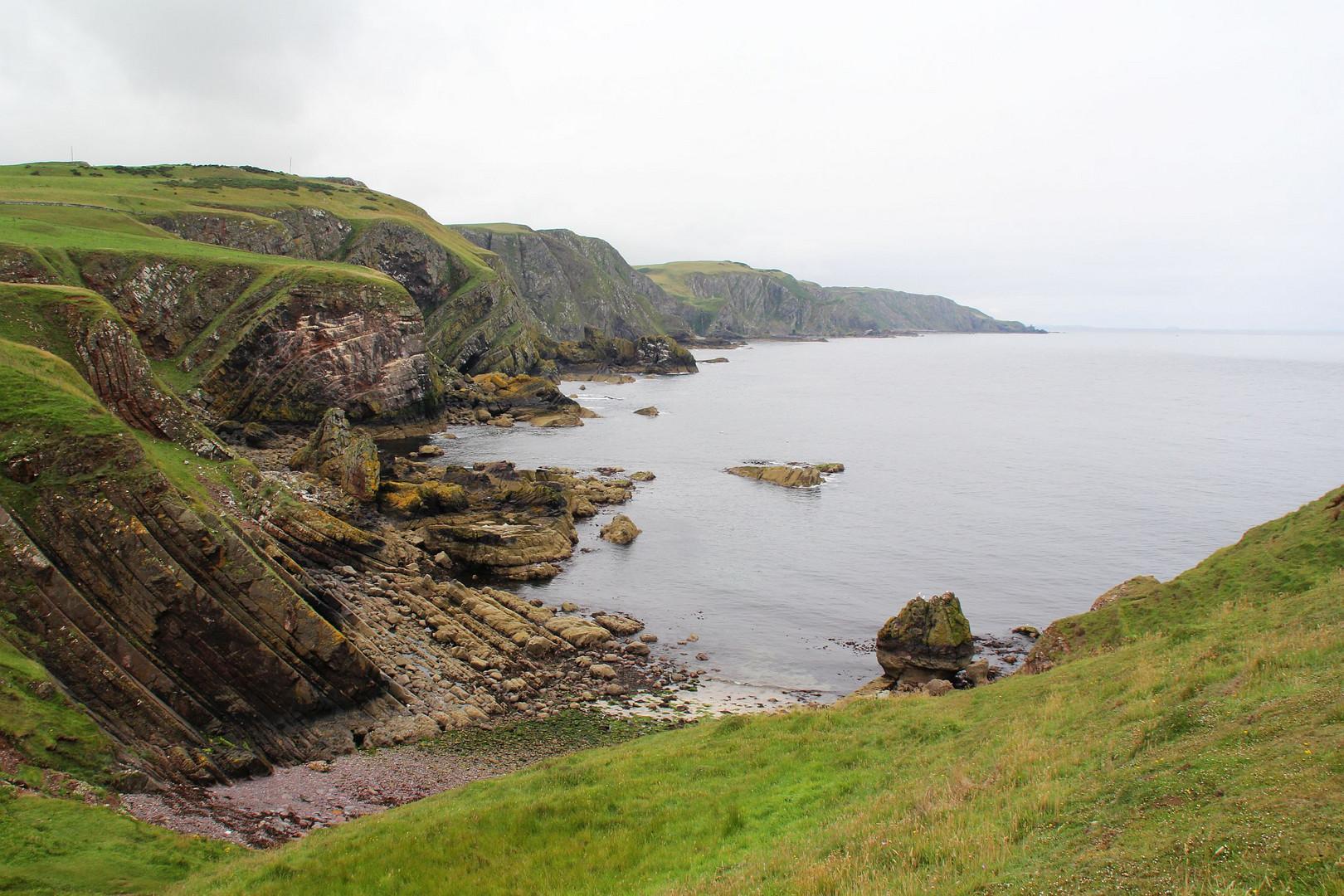 Wundervolle Küste am St. Abbs Head/Südosten von Schottland