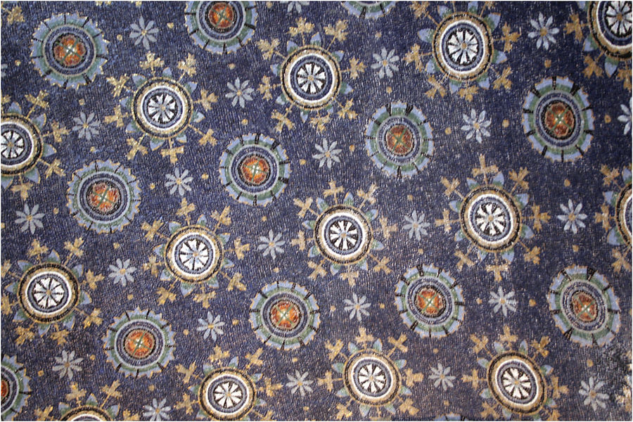 Wundervoller Mosaikhimmel