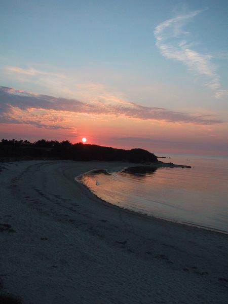 wundervoller Sonnenuntergang