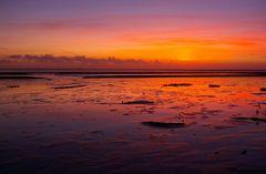 Wunderwelt Wattenmeer, heute Abend gesehen in Norddeich