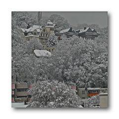 Wuppertal als Winterwunderland