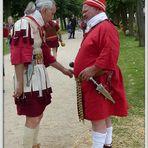 Xanten - Römerfest 2014 - Lagebesprechung - 2