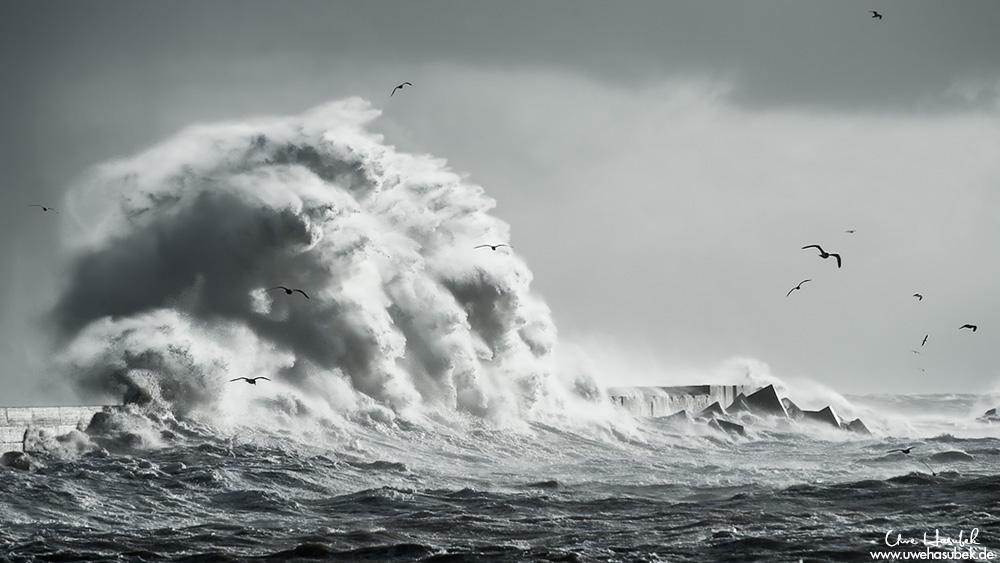 Xaver - Sturm auf Helgoland