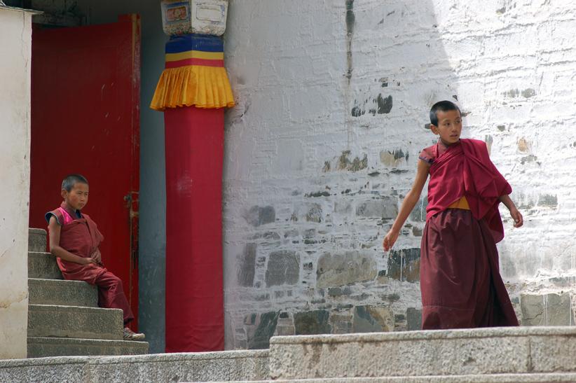 Xiahe - monastery