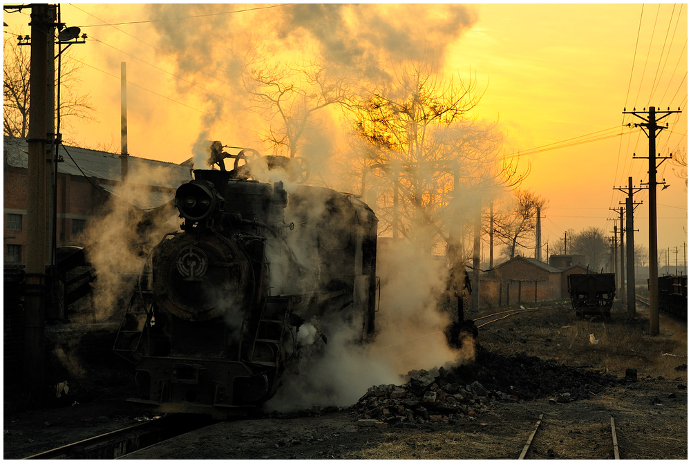 Xingyang - In Dampf gehüllt 2011