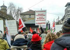 XY Demo Stgt Jan15 WASENFLÜCHTLINGE BAYERN ABSCHIEBEN