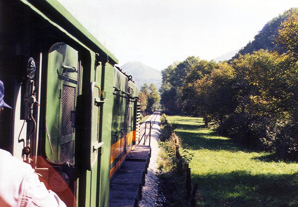 Y el tren de ayer.