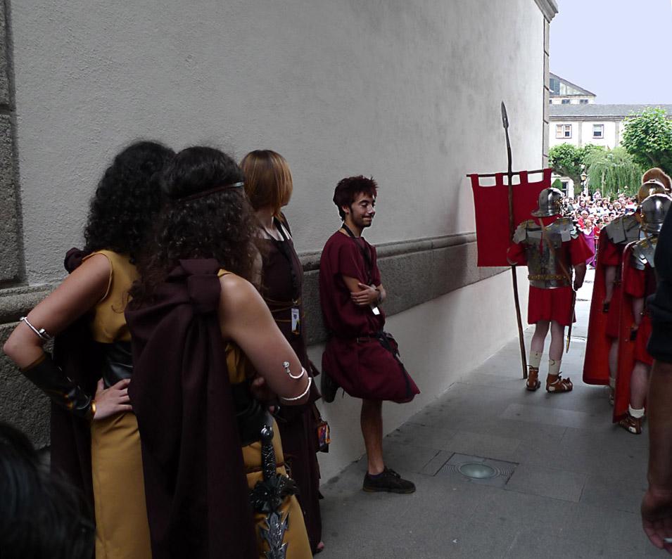 ...y las romanas...