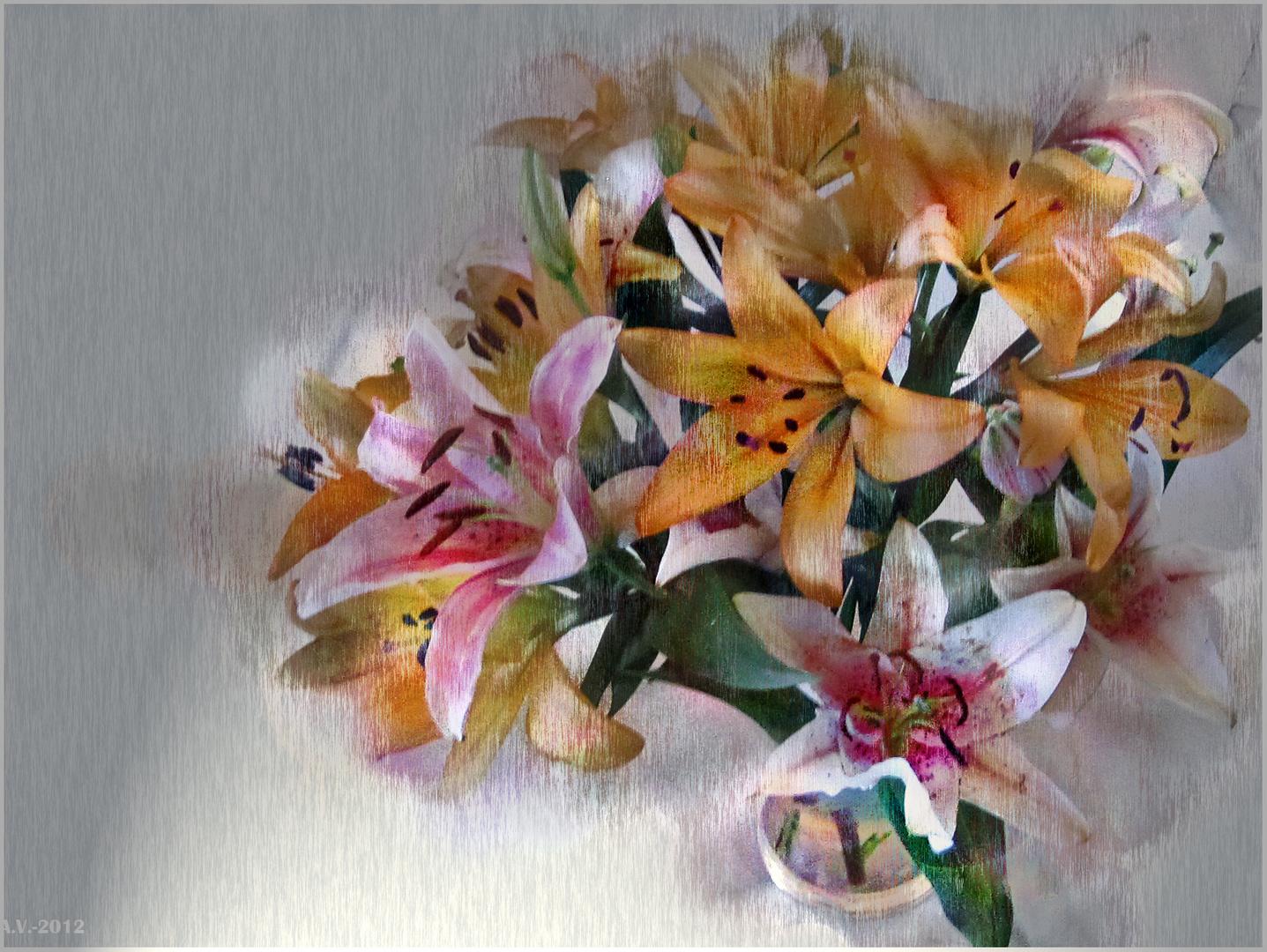 Y viene mayo florido....(Lilium 1)