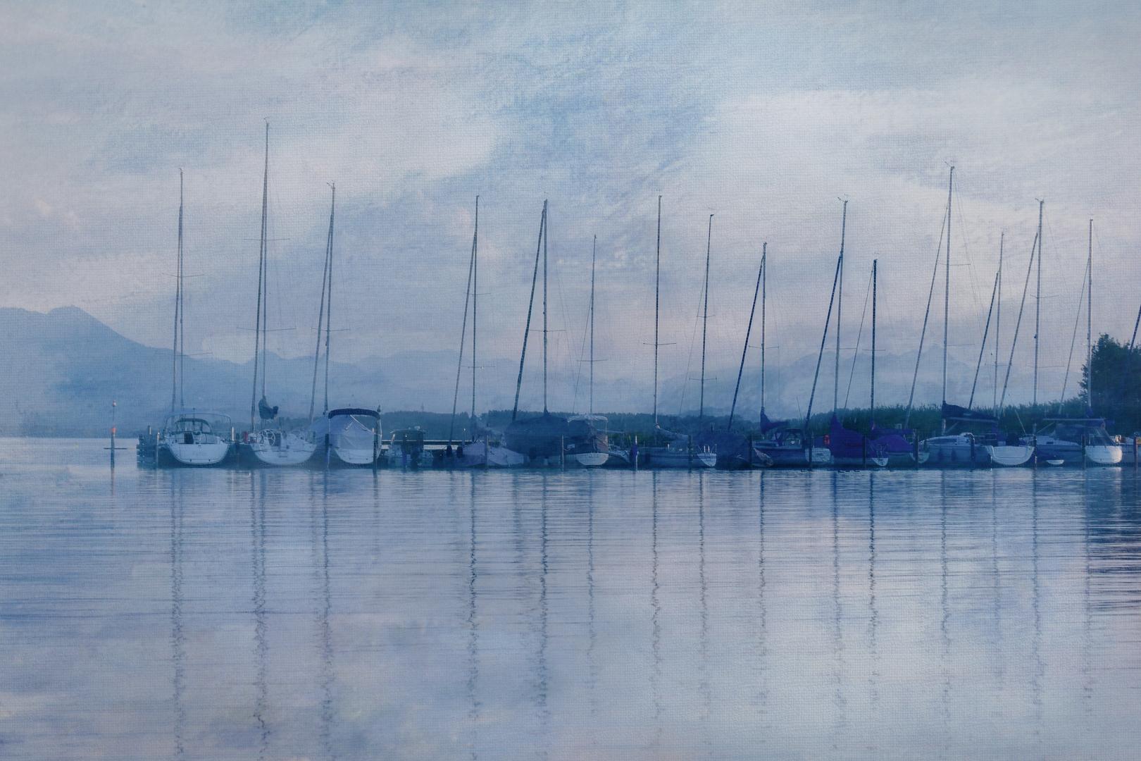 Yachthafen am Chiemsee