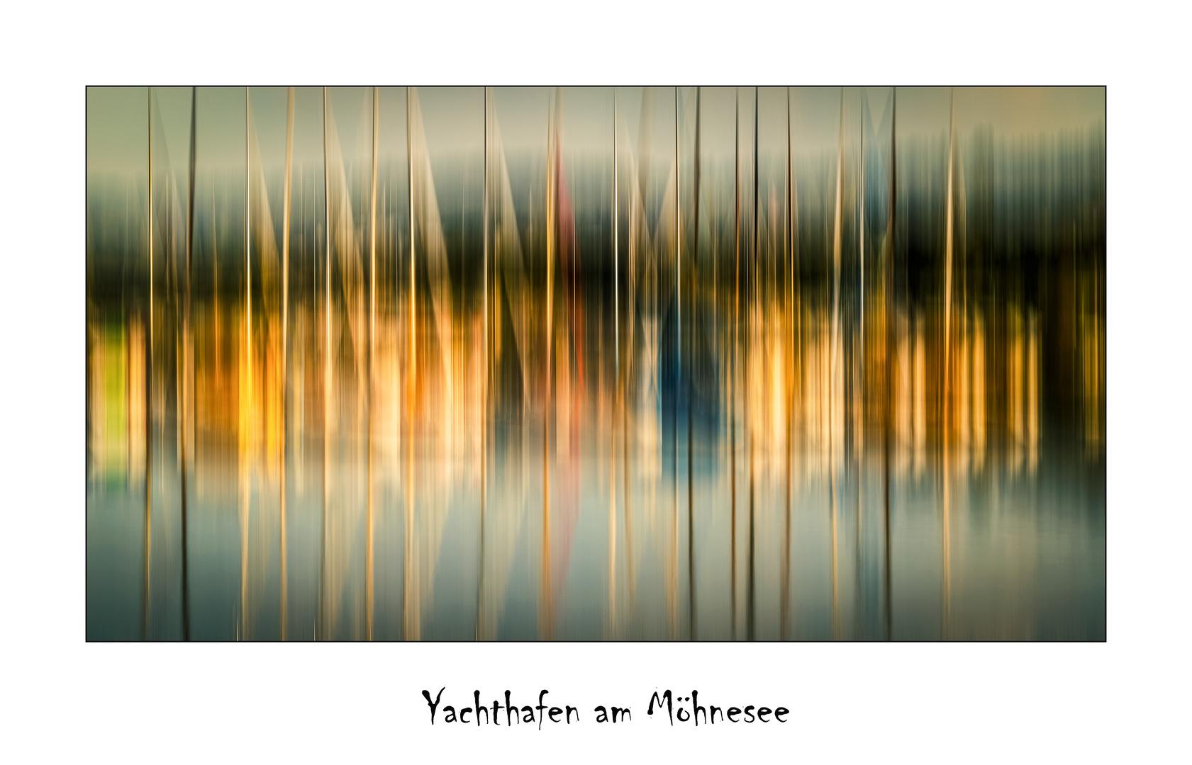 Yachthafen am Möhnesee