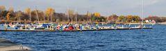 Yachthafen an der Goitzsche