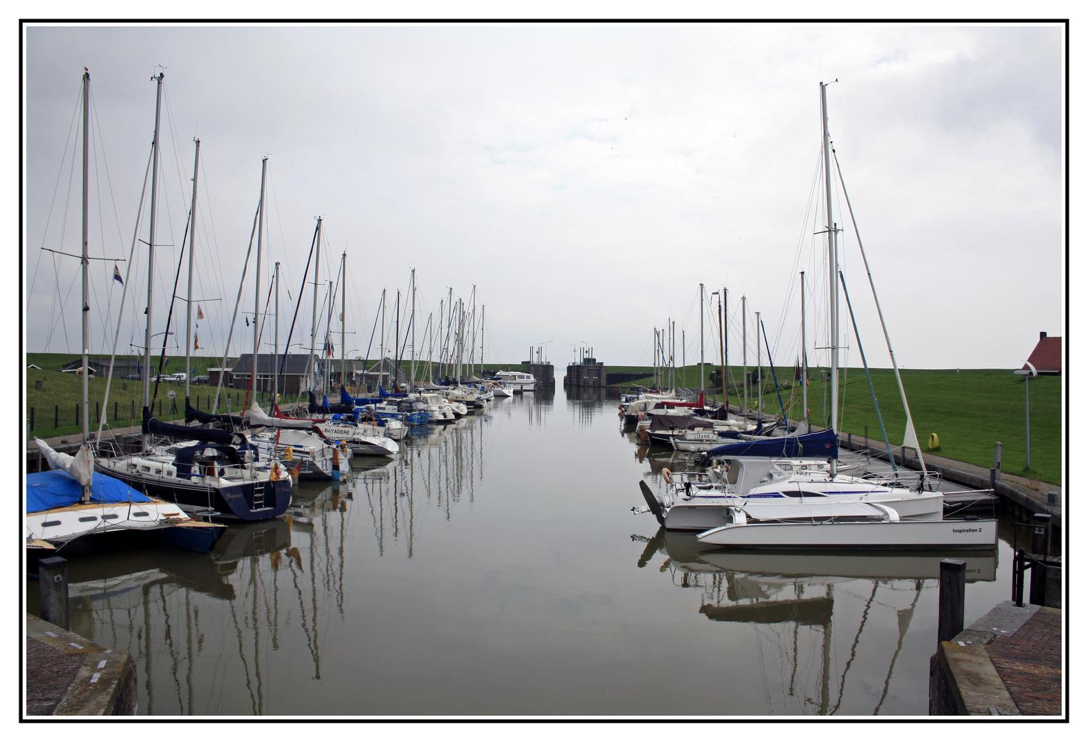 Yachthaven in Termunterzijl NL