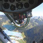 Yak 52  oder JAK 52 ?- mit Pilot Bernhard Langhans - über dem Haldensee /  Tiroler Tannheimertal....