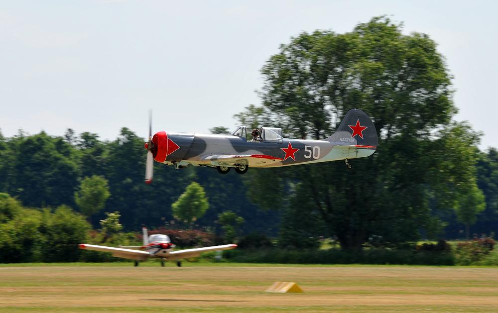Yakowlew Yak 50 RA3215K - 50 Jahre Niershorst