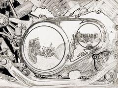 Yamaha-Zeichnung