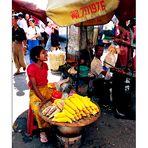 YANGOON: ON THE STREET...