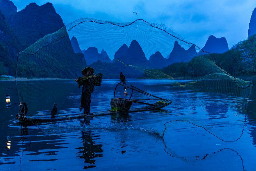 Yangshuo River Morning_023-1