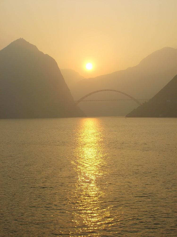 Yangtse Fluss