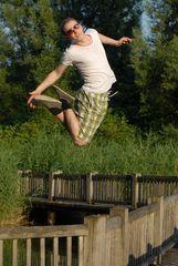 Yannick kann fliegen