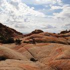 Yant Flat bei Saint George - Ein Überblick Richtung Candy Cliffs...