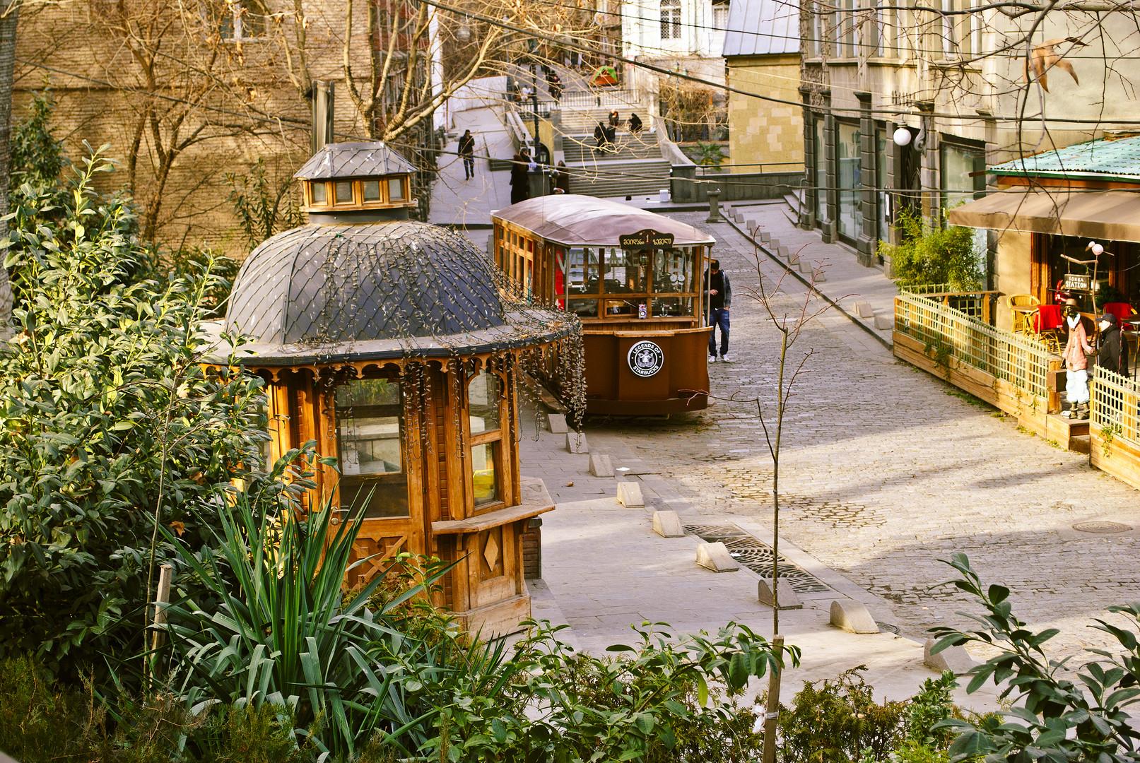 Yard in Tbilisi