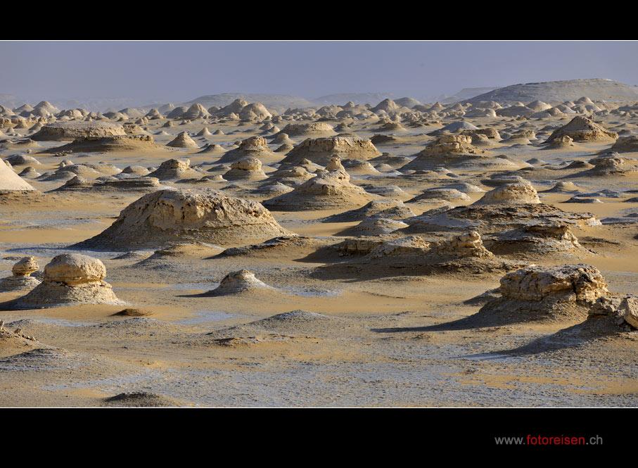 Yardangs der Weissen Wüste