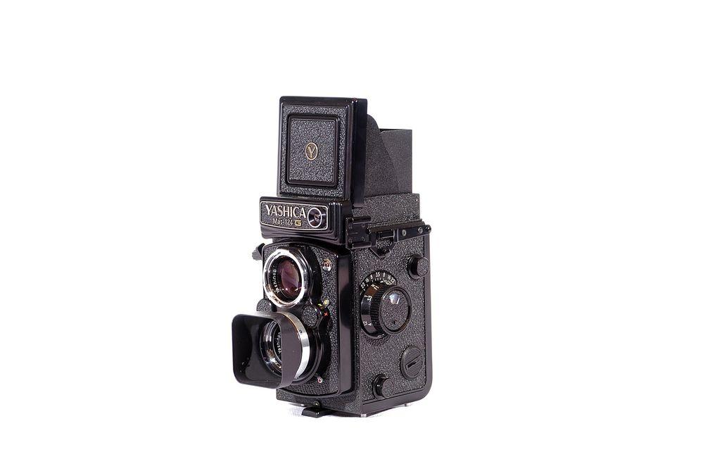 Yashica Mat 124 G für 6X6 Mittelformat ( 120 + 220er Rollfilm )