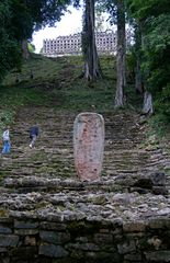Yaxchilan - Aufgang zum Templo Mayor