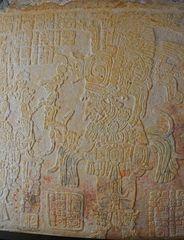 Yaxchilan - Deckenfries im Templo Mayor