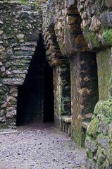 Yaxchilan - Der Eingang
