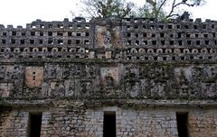 Yaxchilan - Detail am Templo Mayor