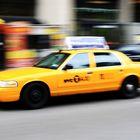 Yellow Cab On Duty