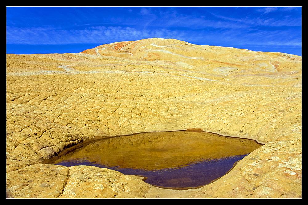 Yellow Rock Reflection